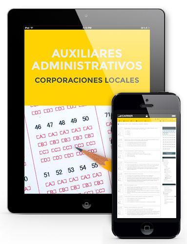 test oposiciones auxiliares administrativos ayuntamientos